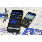ヤマハのモトクロス競技用マシン「YZ450F」のエンジンチューニングがスマホでできるアプリ「パワーチューナー」