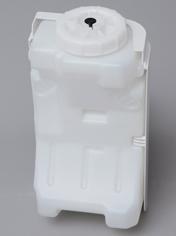 水タンクは給水時に斜めに立つように設計