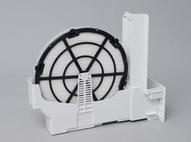 加湿フィルターはシンプルな構造