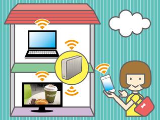 家庭内でデータを共有・利用できるHDD、「NAS」にも注目