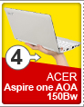 4 ACER Aspire one AOA 150Bw