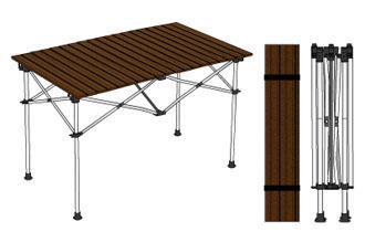 ロール式テーブル