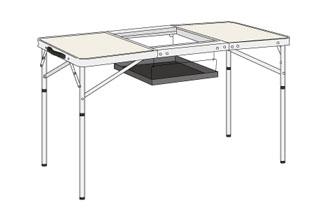 バーベキュー用テーブル