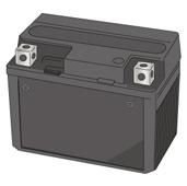 メンテナンスフリー(制御弁式、VRLA)バッテリー