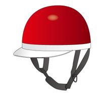 ハーフ形ヘルメット