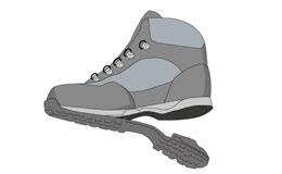 ミッドソールに「ポリウレタン」を使ったトレッキングシューズ・登山靴の寿命は5年!