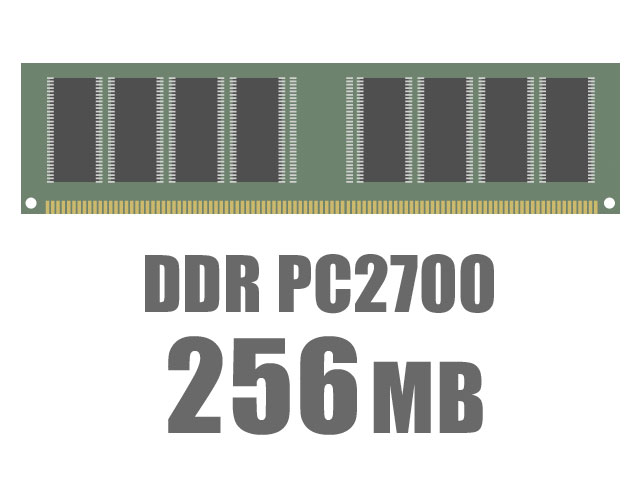 Pc2700 Ddr Sdram. DIMM DDR SDRAM PC2700 256MB
