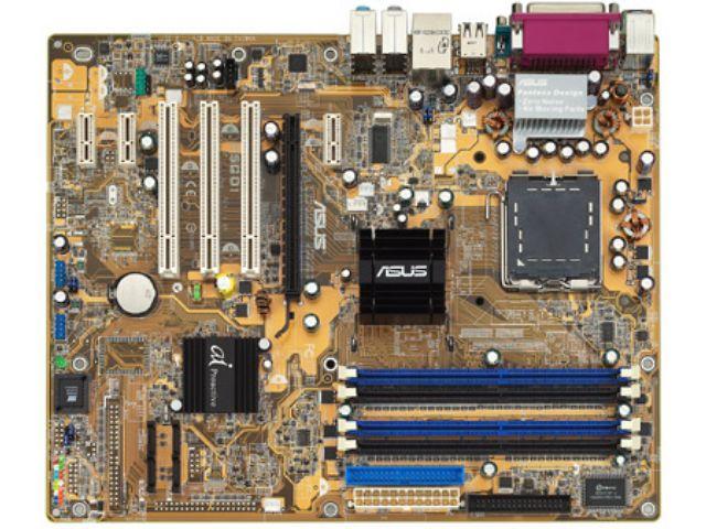 ASUS P5GD1 PRO, sk775, DDR1, PCI-E