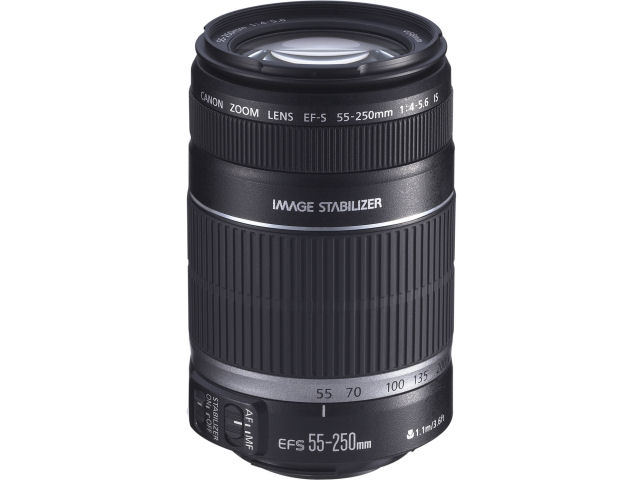 EF-S55-250mm F4-5.6 IS