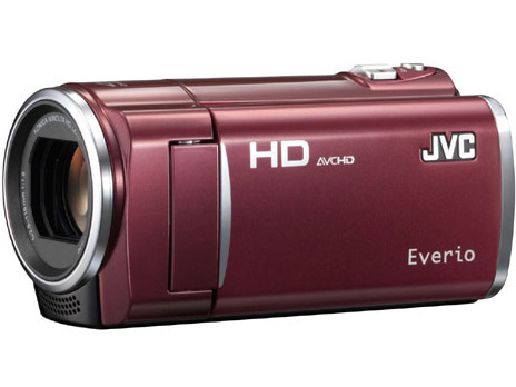 K0000183863 30200円 GZ HM670 R VICTOR ハイビジョンメモリビデオカメラ ルジュレッド