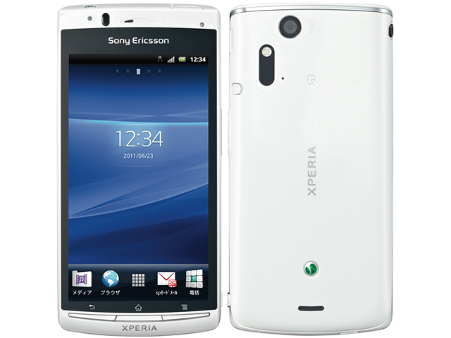 �h�R�� �X�}�[�g�t�H�� Xperia acro SO-02C [White]