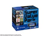 PlayStation Vita (�v���C�X�e�[�V���� ���B�[�^) Super Value Pack Wi-Fi���f��