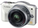 LUMIX DMC-GF3X-W 電動ズームレンズキット [シェルホワイト]