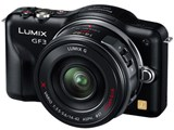 LUMIX DMC-GF3X-K 電動ズームレンズキット [エスプリブラック]