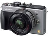 LUMIX DMC-GX1X-S レンズキット [ブレードシルバー]