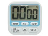 時計付大画面タイマー T-140 ブルー