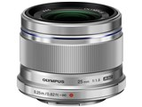 M.ZUIKO DIGITAL 25mm F1.8 [�V���o�[]