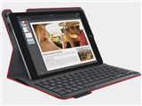 TYPE+ Protective case with integrated keyboard for iPad Air 2 iK1051RD [���b�h]