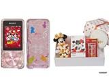 NW-S14/XMASBOX ウォークマン Sシリーズ ミッキー&ミニークリスマスハーモニーボックス [8GB]