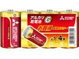 アルカリG アルカリ乾電池 単1形 4本パック LR20GD/4S