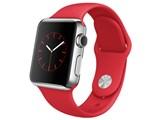Apple Watch 38mm MLLD2J/A [(PRODUCT)REDスポーツバンド]