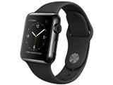 Apple Watch 38mm MLCK2J/A [ブラックスポーツバンド]