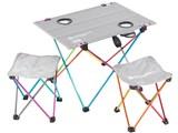 ウルトラライトテーブルセット TS2-293 [レインボー]