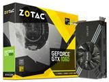 ZOTAC GeForce GTX 1060 6GB Single Fan ZT-P10600A-10L [PCIExp 6GB]