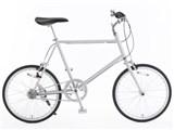 20型クロモリ自転車コンパクトタイプ 76281856 [グレー]
