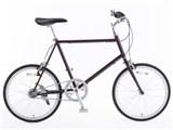 20型クロモリ自転車コンパクトタイプ 76281870 [ワインレッド]