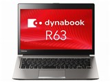 東芝 dynabook R63 R63/W PR63WEAA63CAD11