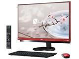 LAVIE Desk All-in-one DA770/GAR PC-DA770GAR [ラズベリーレッド]