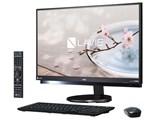 LAVIE Desk All-in-one DA770/GAB PC-DA770GAB [ファインブラック]