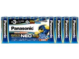 エボルタNEO アルカリ乾電池 単3形 20本パック LR6NJ/20SW