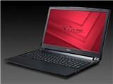 NEXTGEAR-NOTE i5320GA1 Core i7/16GBメモリ/256GB SSD+1TB HDD/GTX1050/15.6型フルHD液晶搭載モデル
