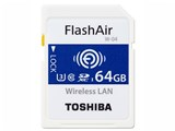 FlashAir W-04 SD-UWA064G [64GB]