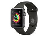 Apple Watch Series 3 GPSモデル 42mm MR362J/A [グレイスポーツバンド]