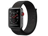Apple Watch Series 3 GPS+Cellularモデル 42mm MRQH2J/A [ブラックスポーツループ]