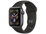 Apple Watch Series 4 GPSモデル 40mm MU662J/A [ブラックスポーツバンド]