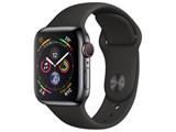 Apple Watch Series 4 GPS+Cellularモデル 40mm MTVL2J/A [スペースブラックステンレススチールケース/ブラックスポーツバンド]