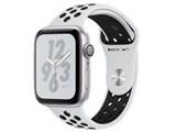 Apple Watch Nike+ Series 4 GPSモデル 44mm MU6K2J/A [ピュアプラチナム/ブラックNikeスポーツバンド]