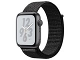 Apple Watch Nike+ Series 4 GPSモデル 44mm MU7J2J/A [ブラックNikeスポーツループ]