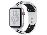Apple Watch Nike+ Series 4 GPS+Cellularモデル 44mm MTXK2J/A [ピュアプラチナム/ブラックNikeスポーツバンド]