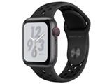 Apple Watch Nike+ Series 4 GPS+Cellularモデル 40mm MTXG2J/A [アンスラサイト/ブラックNikeスポーツバンド]