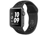 Apple Watch Nike+ Series 3 GPSモデル 38mm MTF12J/A [アンスラサイト/ブラックNikeスポーツバンド]