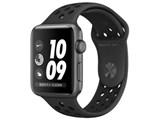 Apple Watch Nike+ Series 3 GPSモデル 42mm MTF42J/A [アンスラサイト/ブラックNikeスポーツバンド]