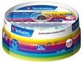 三菱化学メディア Verbatim DHR85HP25V1 (DVD-R DL 8倍速 25枚組)