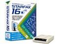 メガソフト STARFAX 16 スーパーG3モデムパック