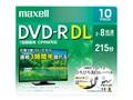 マクセル DRD215WPE.10S [DVD-R DL 8倍速 10枚組]