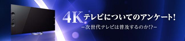 No.073 4Kテレビについてのアンケート!2013  -次世代テレビは普及するのか!? -